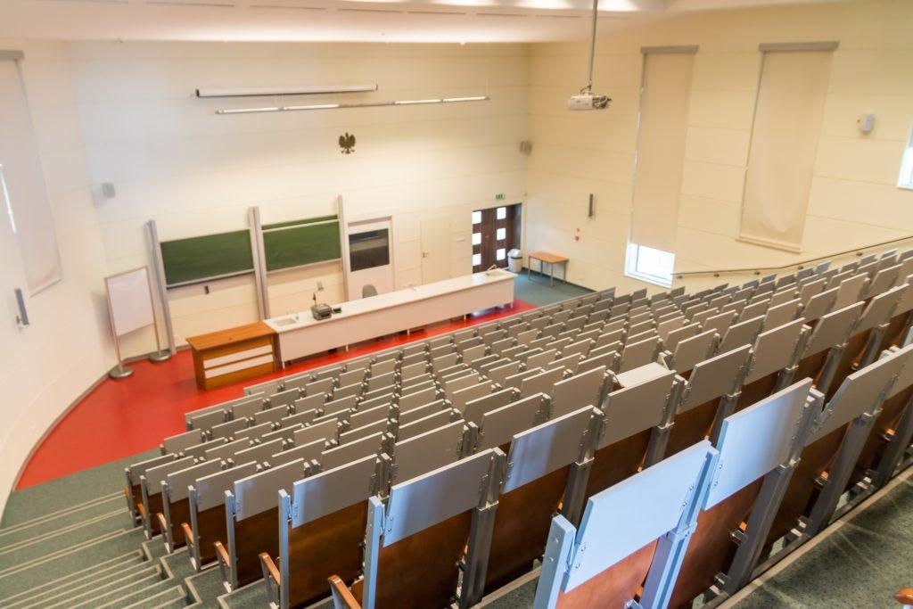 aula magna di un'università